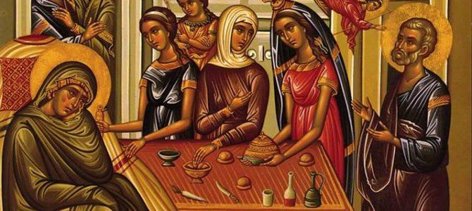 Szeptember 8. Szűz Mária születése