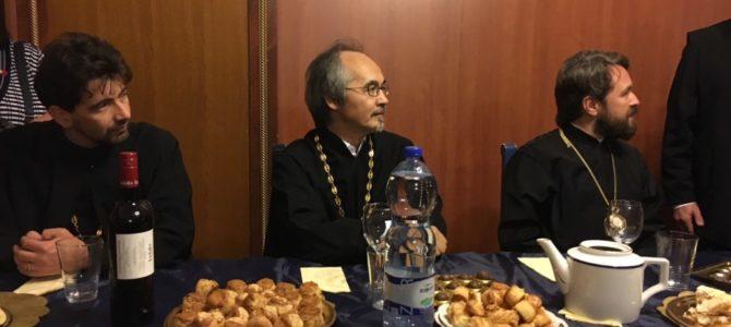 Hilarion volokolamszki metropolita látogatása Magyarországon