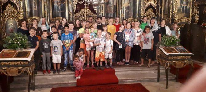 Megnyitotta kapuit a harmadszor megrendezésre kerülő Ahtirkai Istenszülő oltalma alatt álló gyermektábor